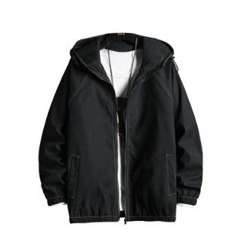 夹克男外套宽松衣服潮流韩版DS670