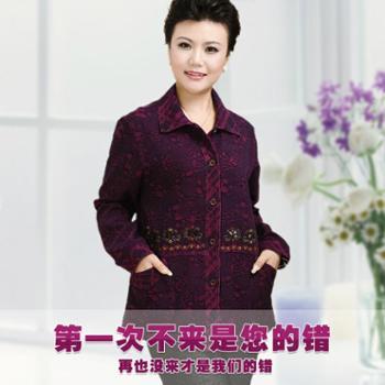 中老年女装衬衫纯棉妈妈装薄外套包邮加肥大码女装春夏装长袖衬衣