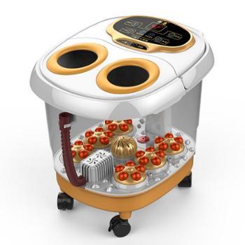 创悦6转盘电动按摩足浴盆熏蒸版CY-8906