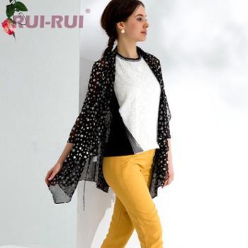 RUI-RUI春装新款欧美宽松防晒衣女式春夏短外套PB1127