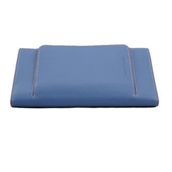 尼诺里拉 NINORIVA 蓝色牛皮革女士长款钱夹 NR60276-1