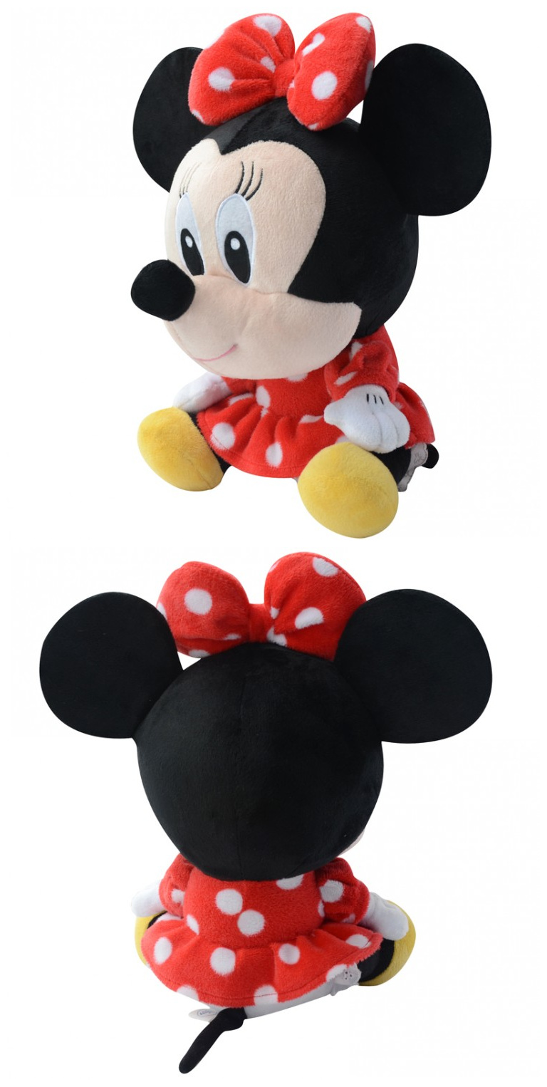 商品名称:迪士尼大号大头q版系列 米妮    颜色:红底白点    简介