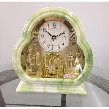 天利达品牌超值回馈 翡翠绿 欧式座钟超静音 TLD-5523C