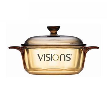 VISIONS康宁0.8L晶彩透明锅VS-08CN
