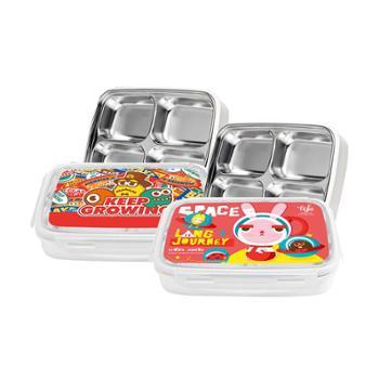 TISOÜEinarHouse/MONSTERMADE双层可拆分四分格便当餐盒TKCE13001-210/TKCA13001-210两款选