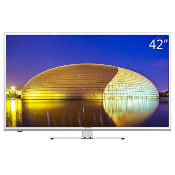 创维(Skyworth)42X5 42英寸6核智能酷开网络平板液晶电视(银色)