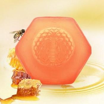 韩嘉美白嫩肤百花蜜手工皂 蜂蜜精油皂 洗脸洗澡二合一 全家通用