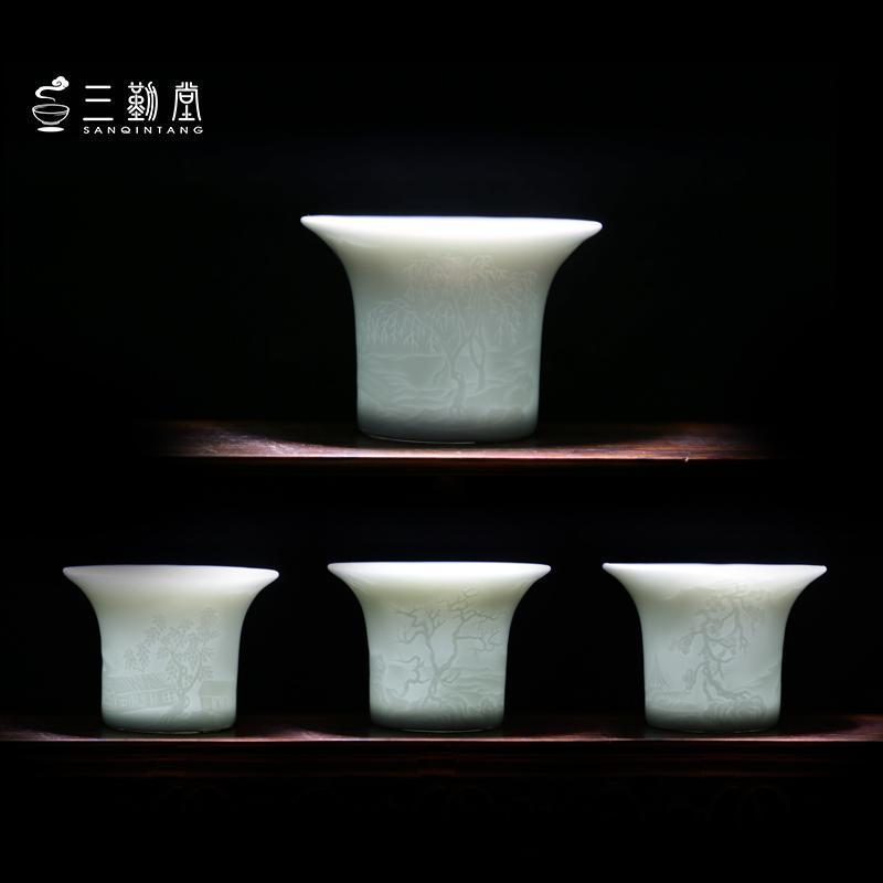 景德镇精品陶瓷品茗杯