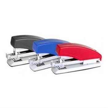 齐心B3017 12# 标准型 按键式省力订书机 订书器 单个