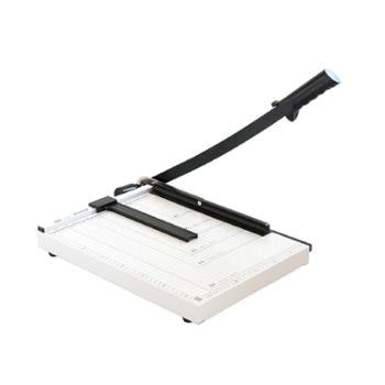 得力切纸机8013 手动钢制裁纸刀 刀片锋利加厚 照片切纸板 4.5kg 单个