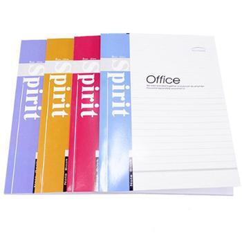 莱特办公软抄本823软面抄 A5笔记本80型记事本 手抄本40页 单本