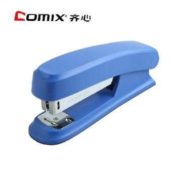 Comix/齐心文具办公用品B2982订书机12号钉订书器骑马钉装订机