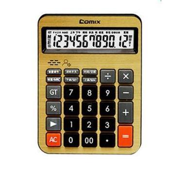 齐心语音计算器C-8158