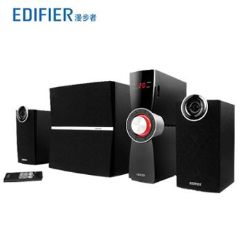 Edifier/漫步者 C2X木质2.1电脑音箱 独立功放重低音炮音响
