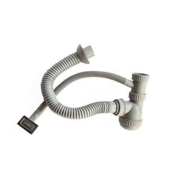 JOMOO九牧单槽方形溢水口下水管卫浴配件下水配件94166