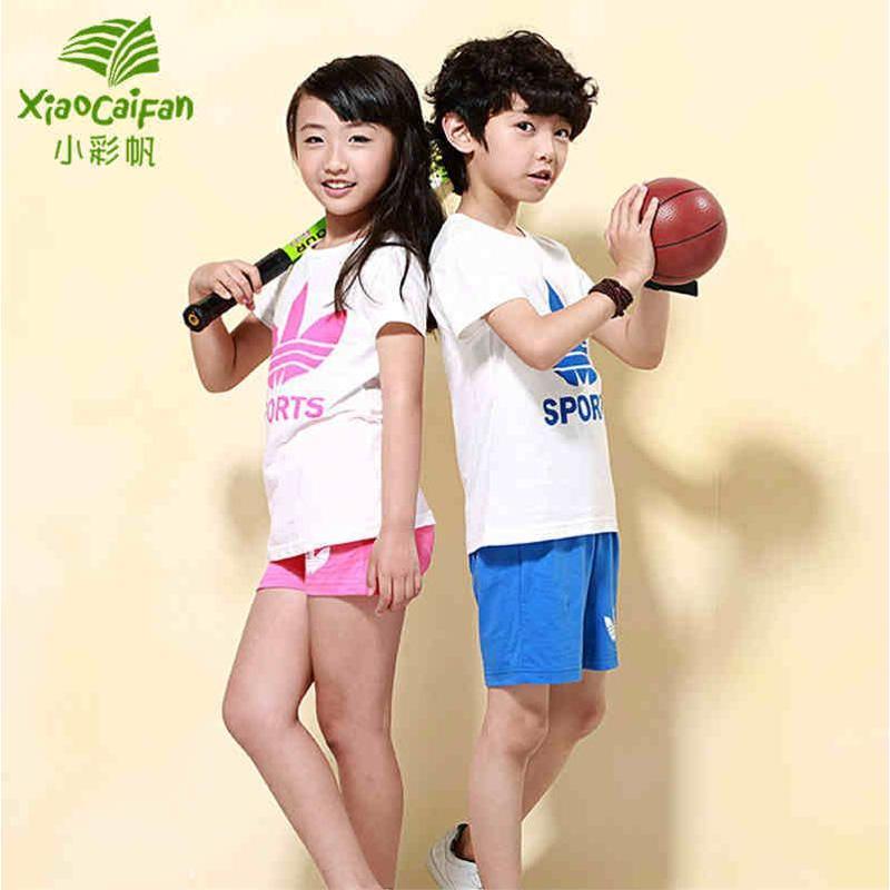 男童短袖儿童运动衣服