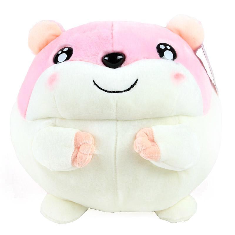 巴比特正品哈姆太郎公仔田鼠可爱抱枕大号毛绒玩具公仔 圣诞礼品