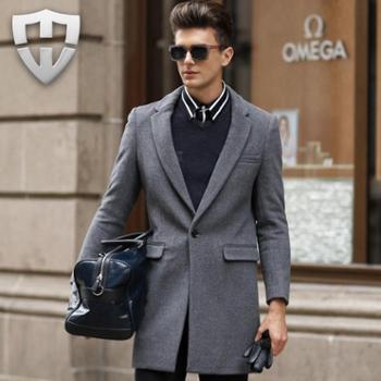 MW轻奢名品 秋冬新款纯羊毛呢大衣 呢外套