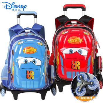 迪士尼小学生1-6年级卡通拉杆双肩书包RB0038