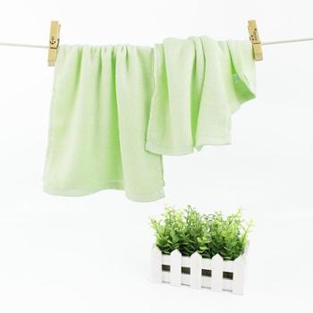 宝奢素色竹纤维毛巾吸水毛巾bs-0045m