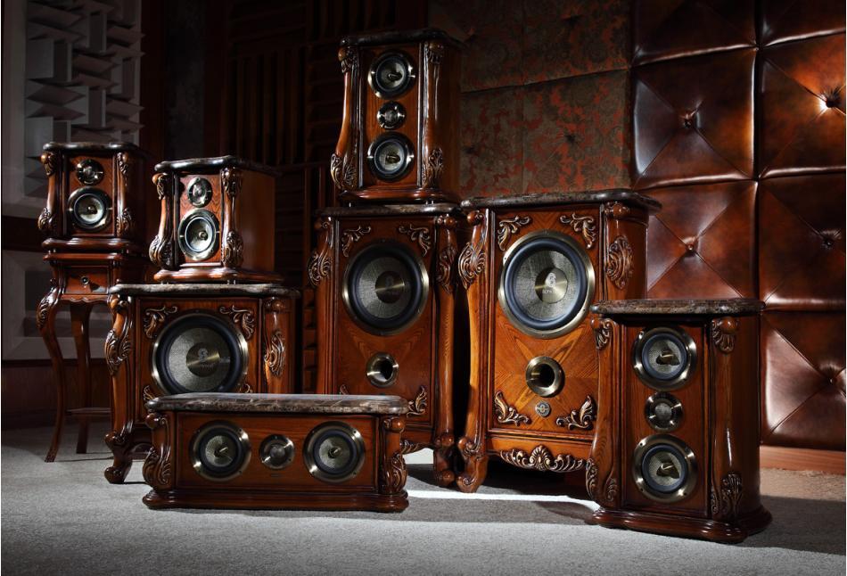 狮龙音响sherwood-发烧级美式古典家俱音箱so-8201