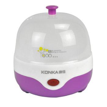 康佳紫丁香 KGZZ1202不锈钢煮蛋器迷你多功能 蒸蛋煮蛋器