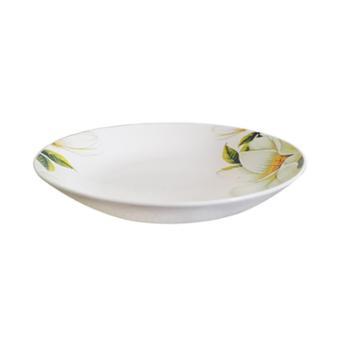 唐山精品印花骨瓷瓷器单支碗、单支盘 单件