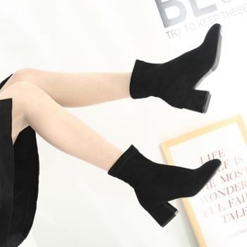 耶斯爱度保暖短筒靴(唯尚a5810)