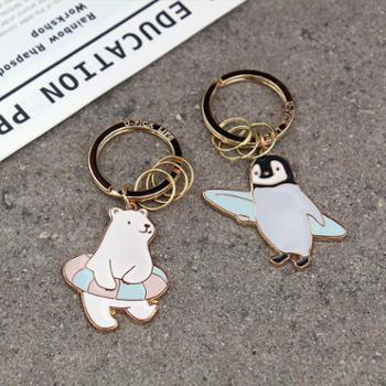 U-PICK原品生活创意汽车情侣钥匙扣钥匙链钥匙圈可爱动物钥匙扣