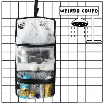 U-PICK原品生活时尚插画旅行折叠收纳袋洗漱防水挂袋