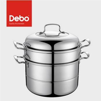 德国Debo德铂施威林不锈钢蒸锅汤锅多用锅