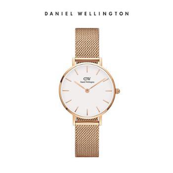 DanielWellingtonDW手表欧美28mm白盘金属女表DW00100219