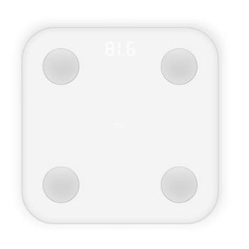 小米(MI)体脂秤白色体重秤智能体脂秤