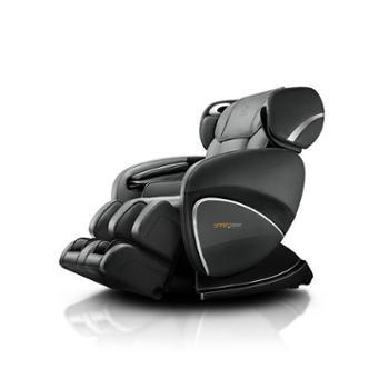 奥佳华大师椅OG-7558c豪华按摩椅3D零重力太空舱多功能家用按摩椅(睿智黑)