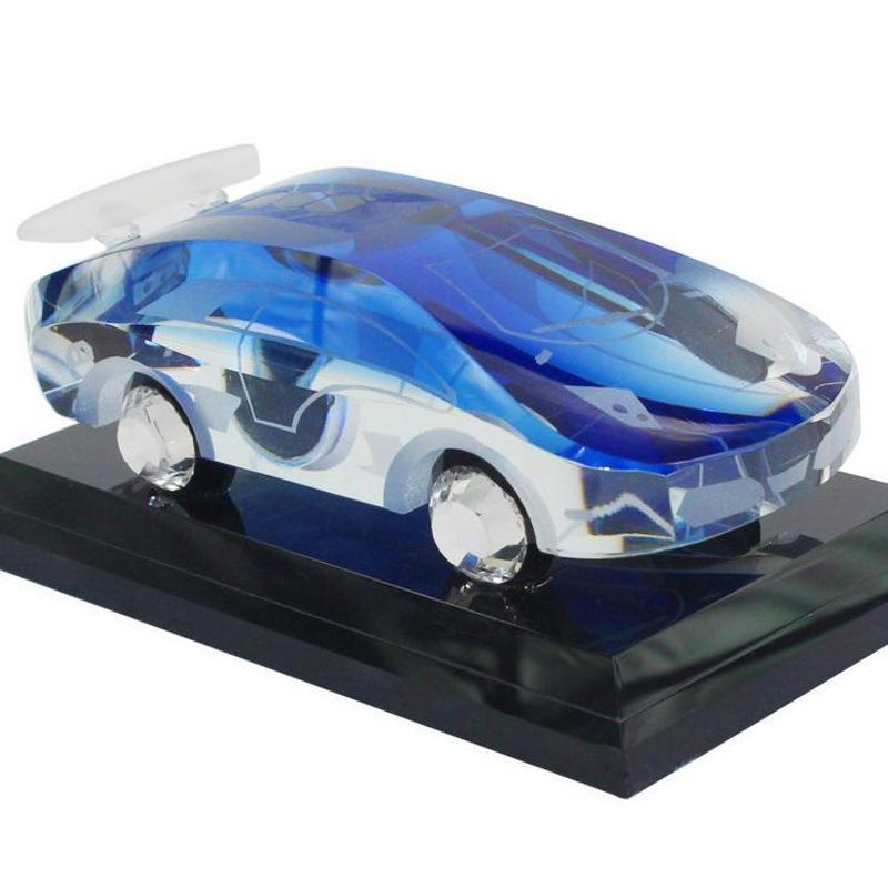汽车摆件高档k9水晶内装饰品 兰博基尼跑车模型香水座,善融高清图片