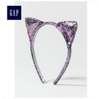 Gap女童闪亮亮片猫耳朵发箍164955