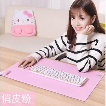 加热保暖桌垫毯简约办公室电脑暖手桌面发热电热板加大电脑鼠标垫