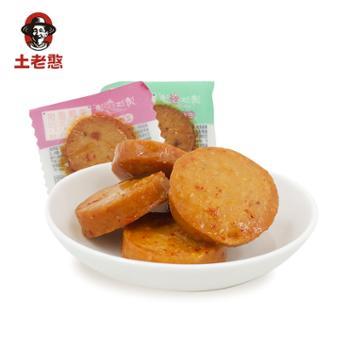 土老憨 三峡特产果蔬香辣鱼饼500g袋装