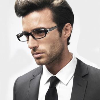 海伦凯勒近视眼镜框板材眼镜框男全框HP2003