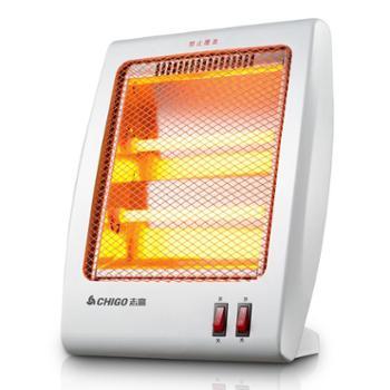 志高 取暖器台式电暖气器小金刚石英管发热烤火炉暖风机家用省电