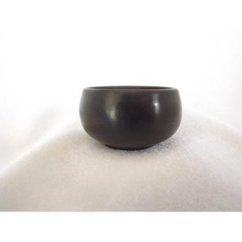 建水珍陶馆黑陶品茗杯