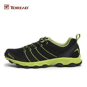 探路者新款登山鞋情侣款户外男女超轻透气网布越野跑鞋徒步鞋TFFD81301/TFFD82301