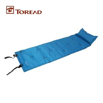 探路者专柜正品春夏郊游露营可拼接单人充气垫防潮垫TEFC80045