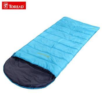 探路者春秋季户外成人旅行露营保暖信封式单人棉睡袋TECC80666叁