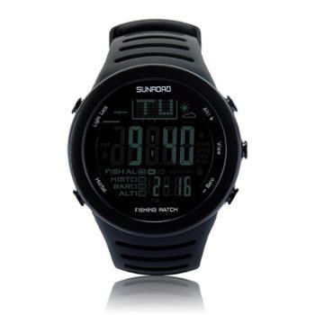 松路(SUNROAD)FR720 钓鱼气压智能钓鱼指数手表