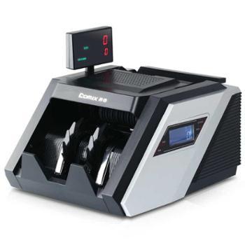 齐心(COMIX) JBYD-6688B 大总管智能语音点钞机/验钞机双显示屏