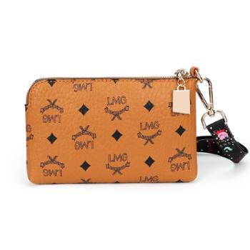 雅臣新款包包女韩版百搭信封包时尚印花小拿包休闲迷你小包包潮