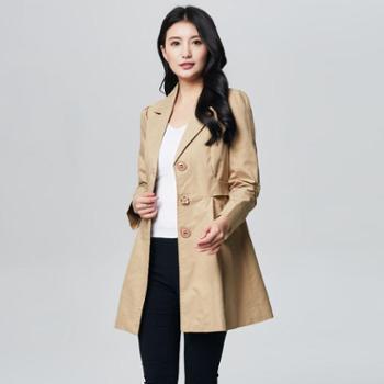 戎立特新款春装女式时尚风衣DW7301-02