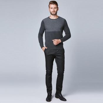 戎立特新款男士时尚羊绒衫8M057R