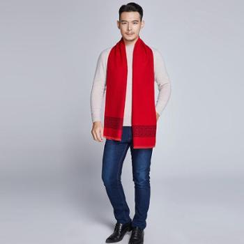 戎立特新款男士时尚围巾FMJ1234